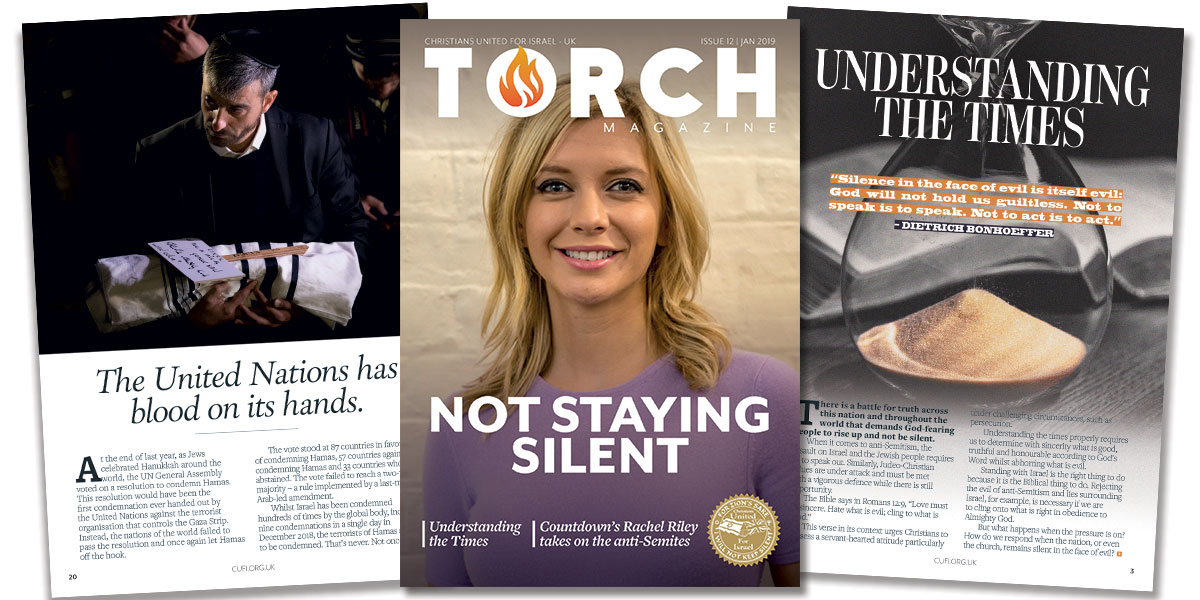 """Not staying silent"" 