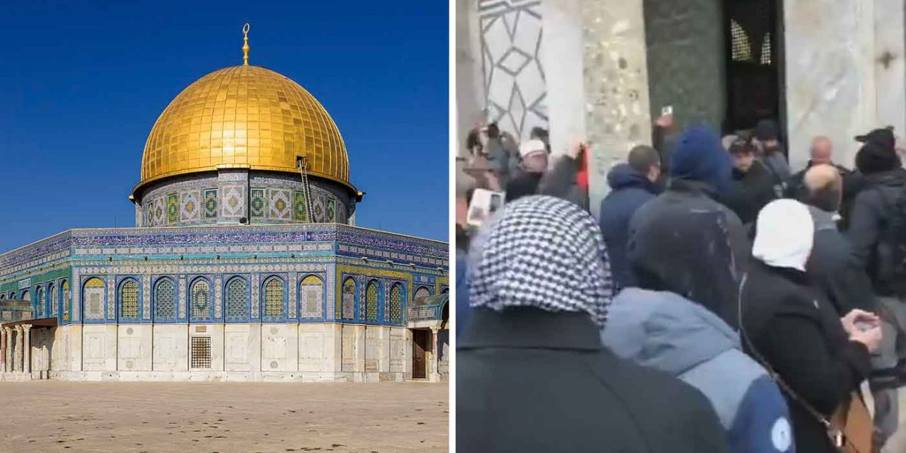 Palestinians scuffle with Israeli police on Temple Mount over Jewish officer's kippah