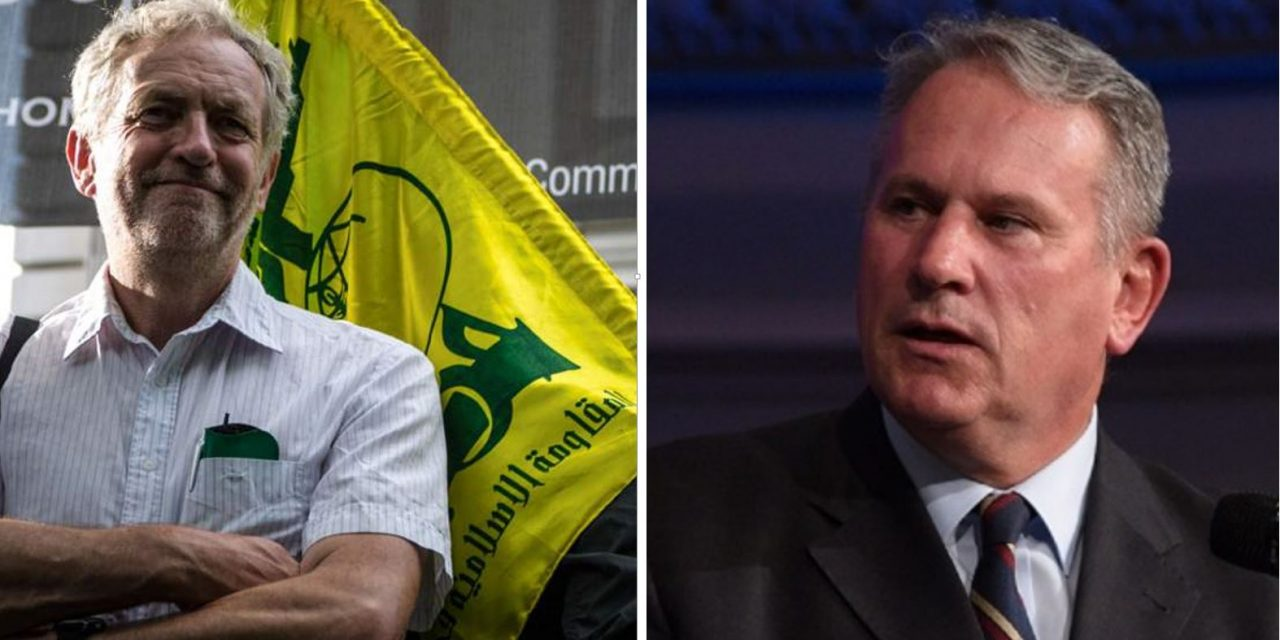Former commander of British Army SLAMS Labour over opposition to Hezbollah ban