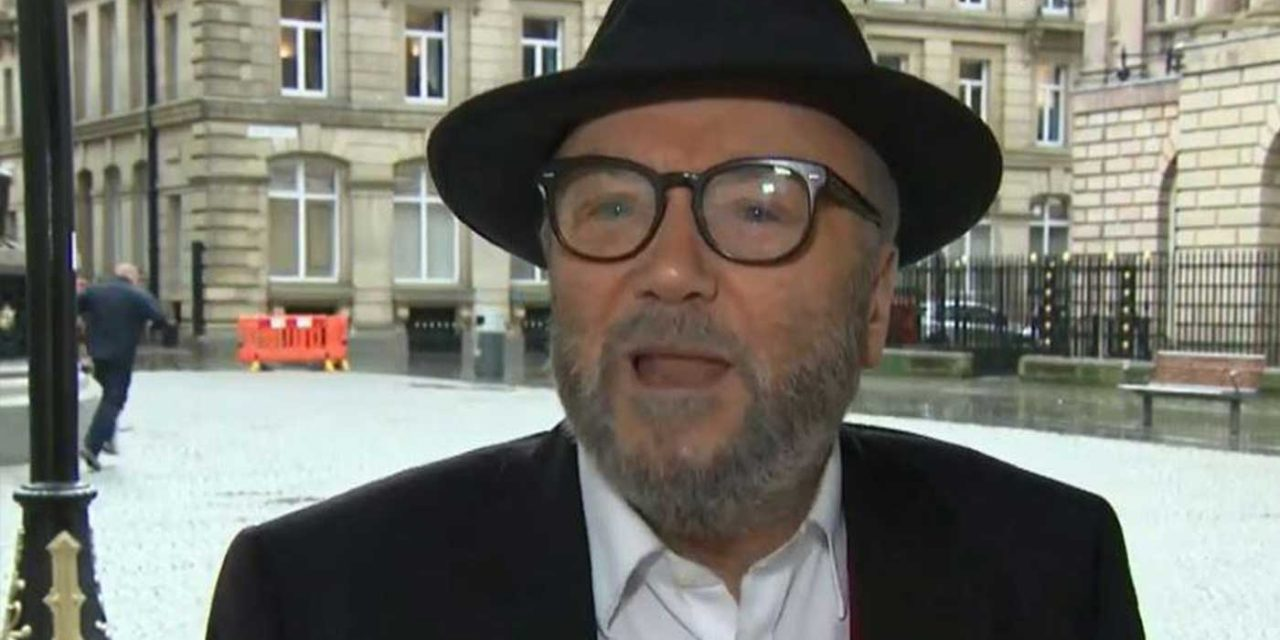 George Galloway says Nazi tactics used to smear Corbyn as an anti-Semite