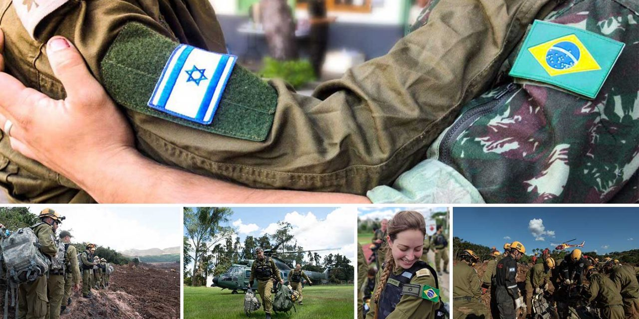IN PICTURES: Israel's search and rescue operations in Brazil after mudslide