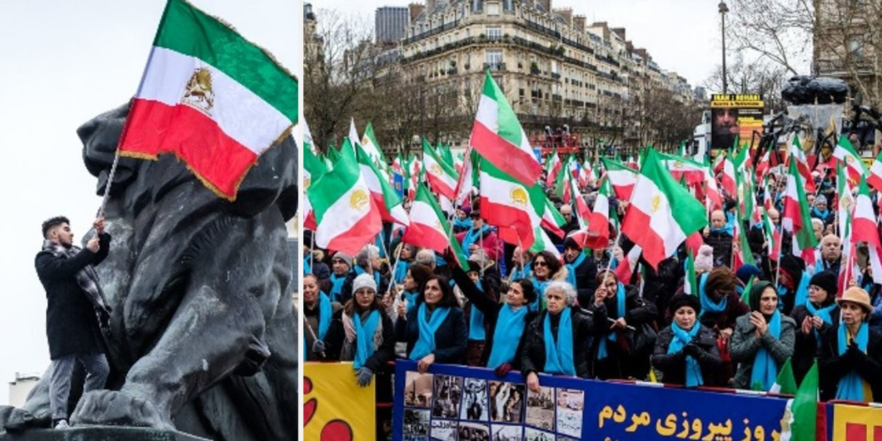 Thousands of Iranians take to streets of Europe to protest oppressive regime