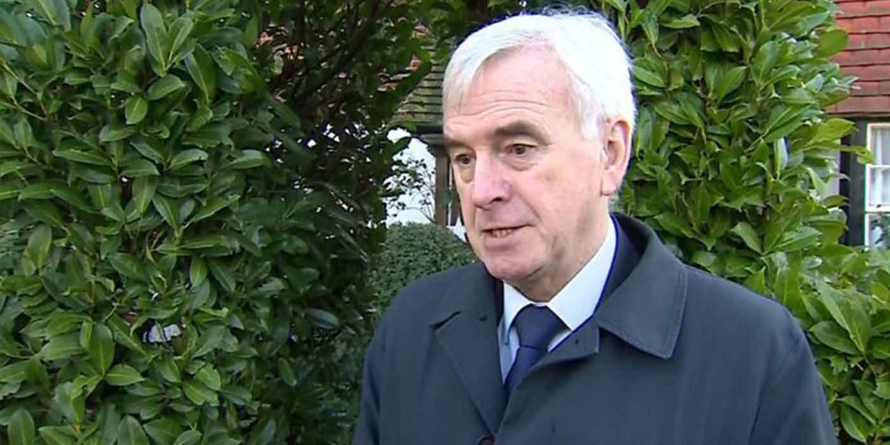 McDonnell called for anyone who fought for Israeli Defense Forces to be stripped of British citizenship