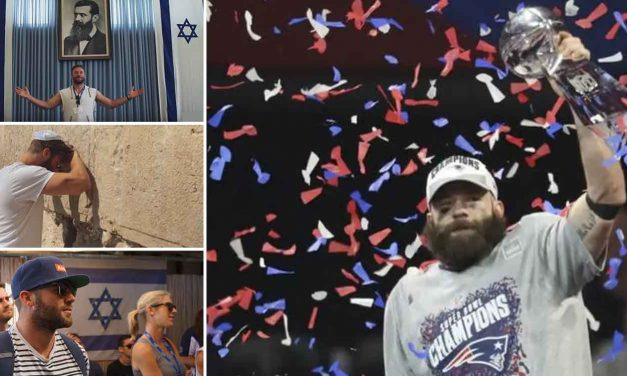 Pro-Israel NFL player becomes first Jew to win Superbowl MVP