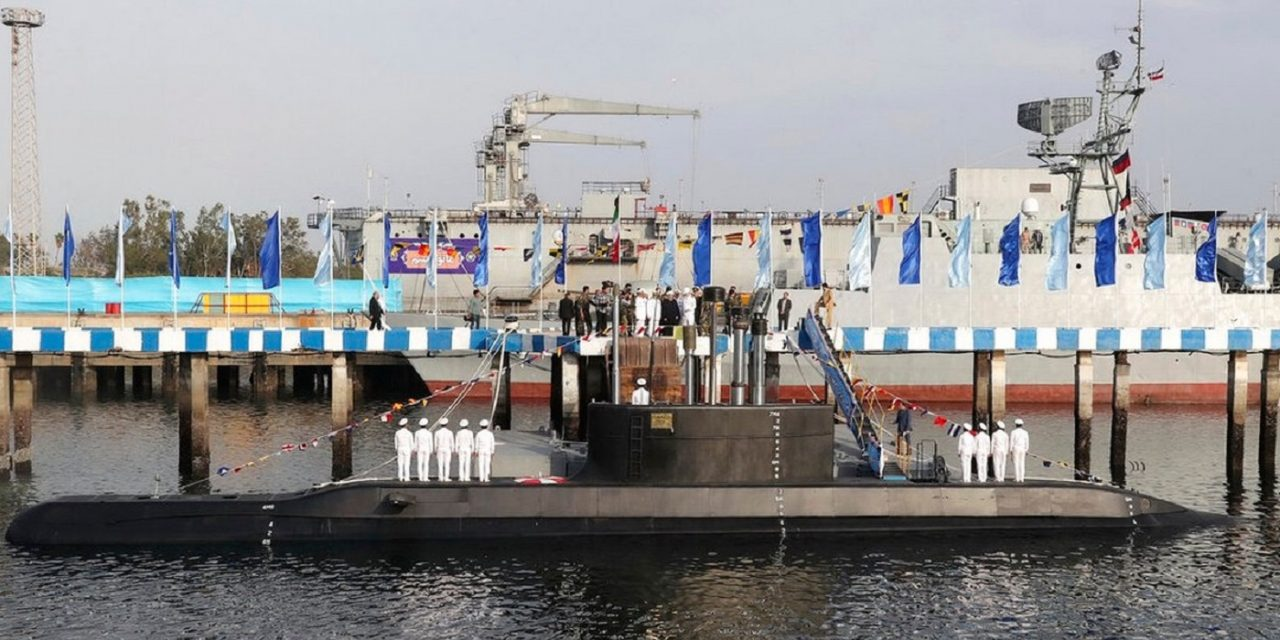 Iran unveils submarine capable of launching cruise missiles