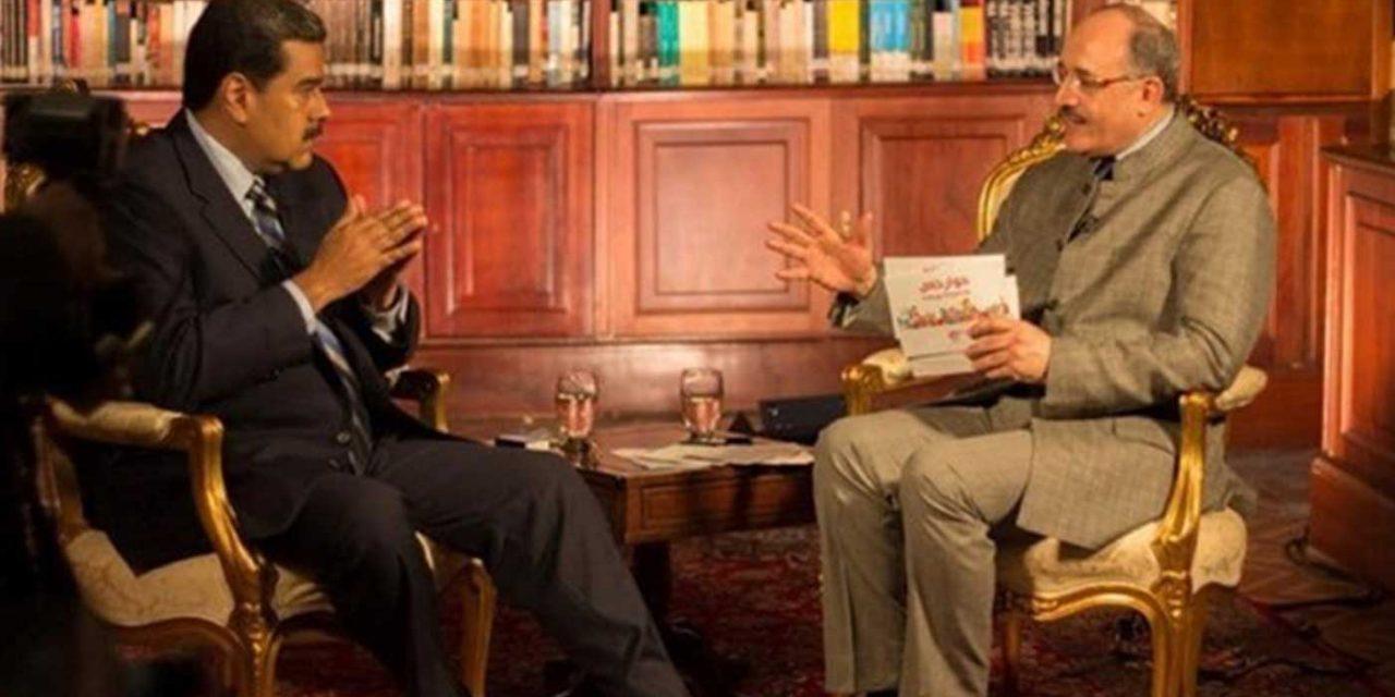 "Venezuela's Maduro says rival ""serves Zionists"" as he praises ""Palestinian prisoners"""