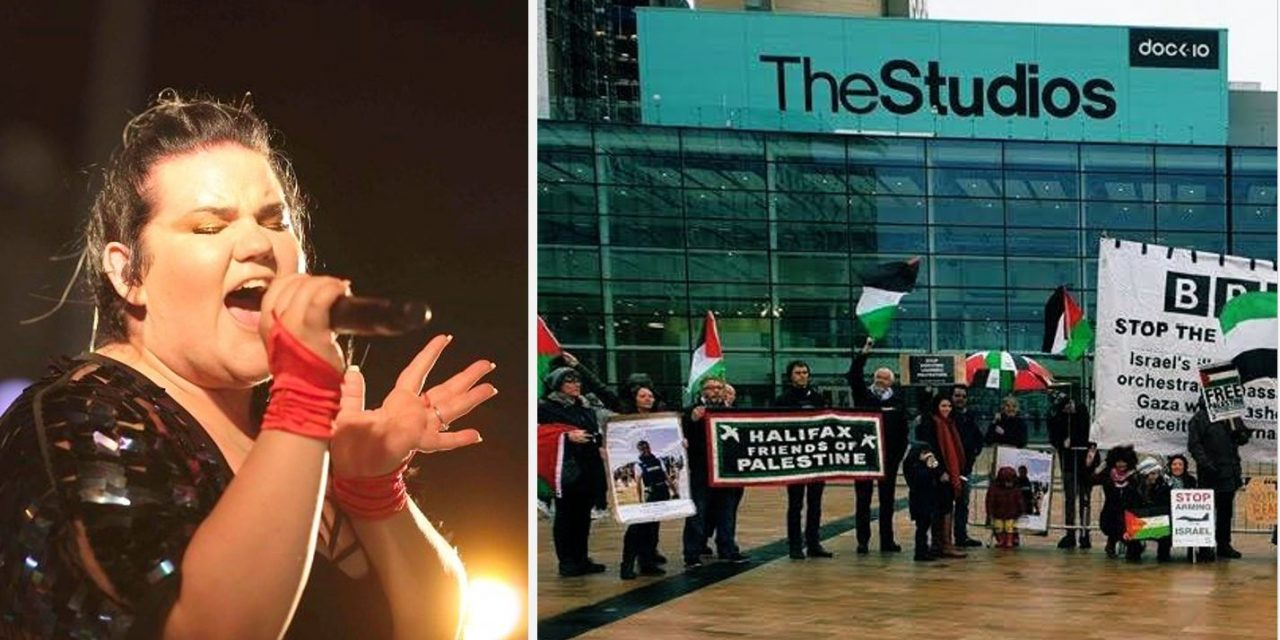 Security bolstered for tonight's BBC Eurovision show amid threats by anti-Israel protesters
