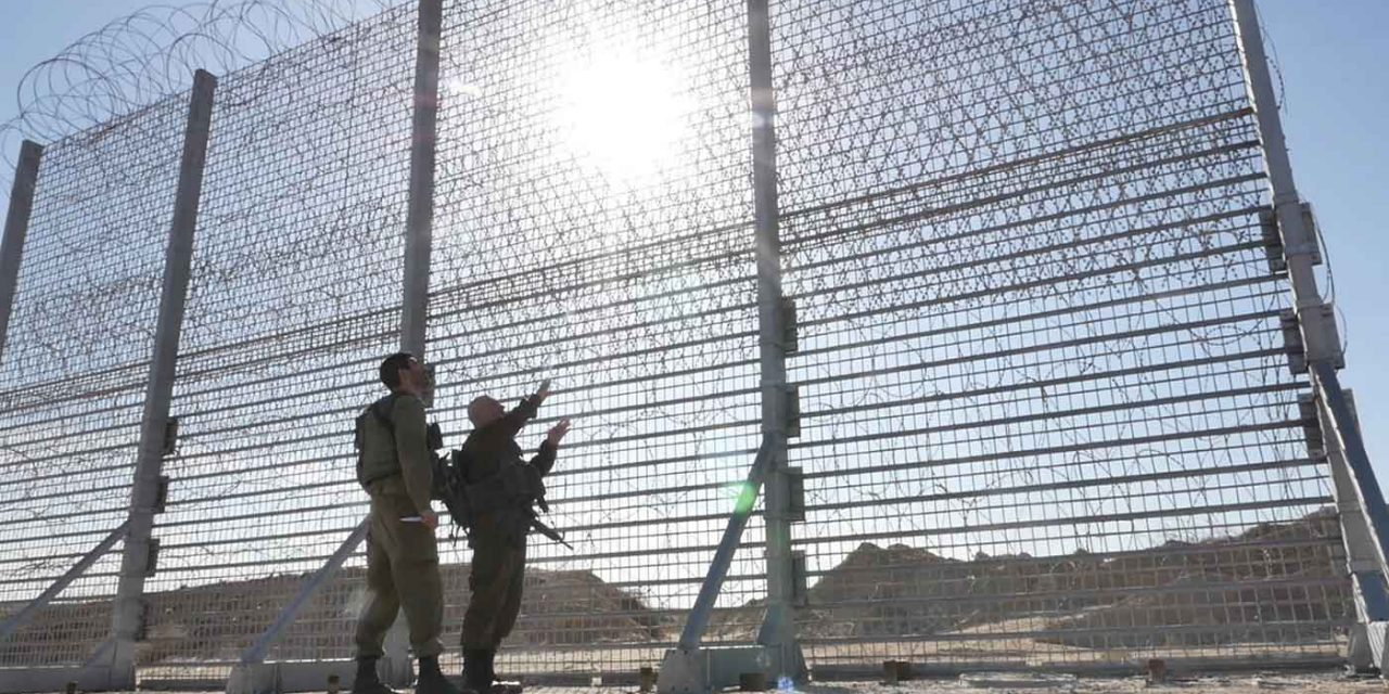 Israel begins construction of enhanced security barrier along Gaza border