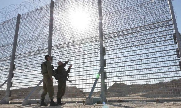 Gaza sniper fires two shots at Israeli engineering vehicle working near security fence