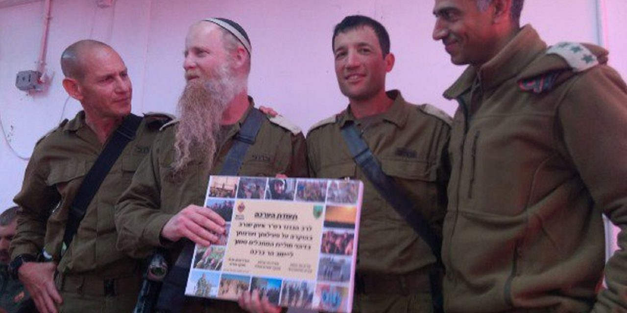 Rabbi foils terror attack at IDF outpost