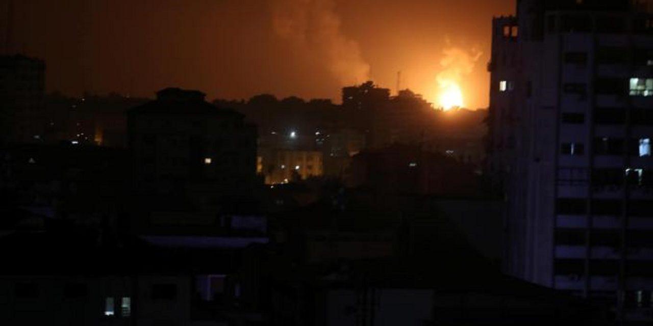 More rockets fired at Israeli towns on Gaza border; Israel strikes 100 Hamas terror targets