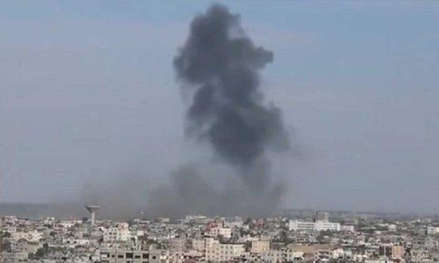 Israel strikes Hamas naval base after Palestinian terrorists fire mortar towards civilians