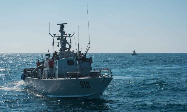 Israel's navy tests new sea-to-sea missile set to defend oil rigs