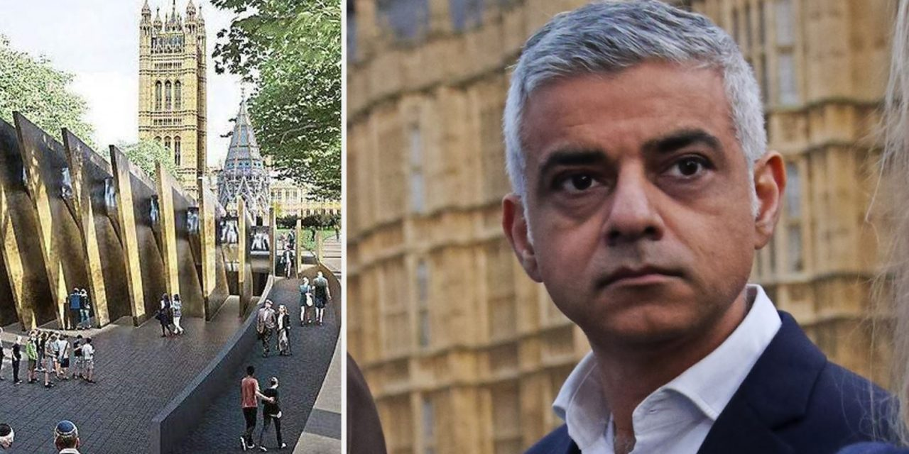 "Mayor of London ""deeply concerned"" Holocaust Memorial in Westminster will be scrapped"