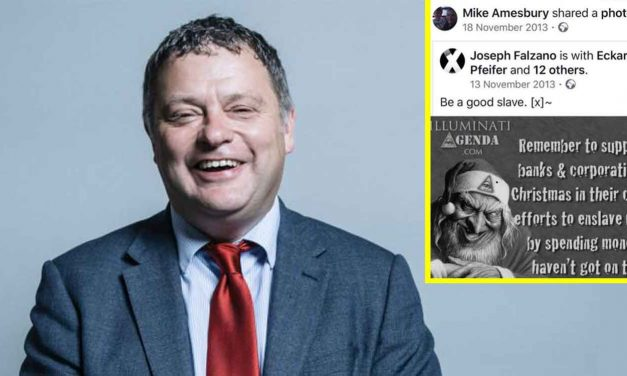 Labour Shadow Minister apologises for posting anti-Semitic caricature