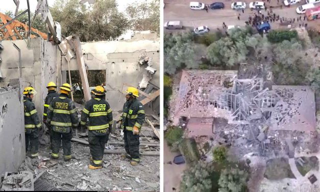 Seven Israelis injured, including two infants, by Hamas rocket that hit Israeli home