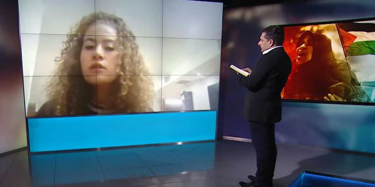 """Ahed Tamimi says UK is """"completely occupied and controlled by Israel"""" despite wanting to study here"""