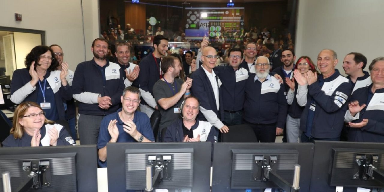 Success as Israel's spacecraft enters moon's orbit with ONE WEEK till landing