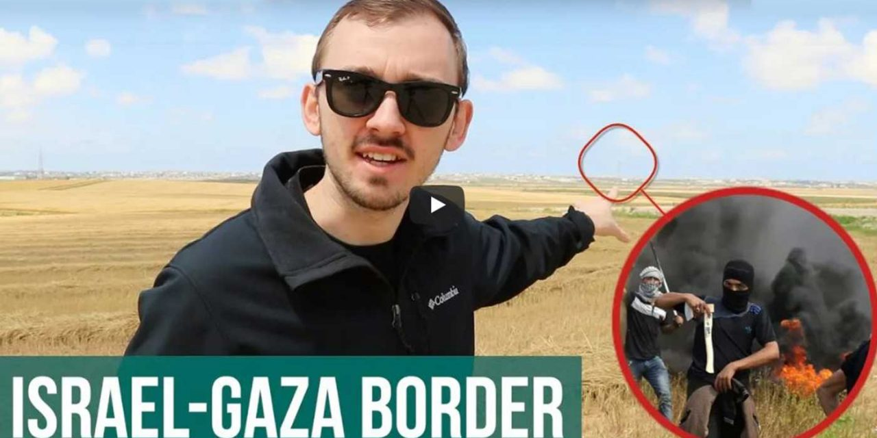 Watch: The truth about Hamas' violent border riots