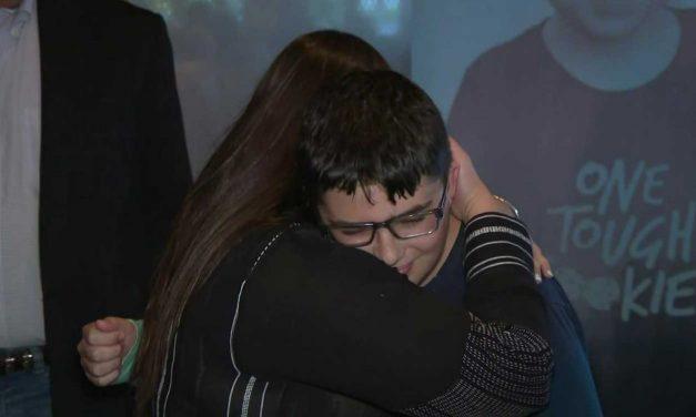 Israeli woman meets boy she saved half way around the world