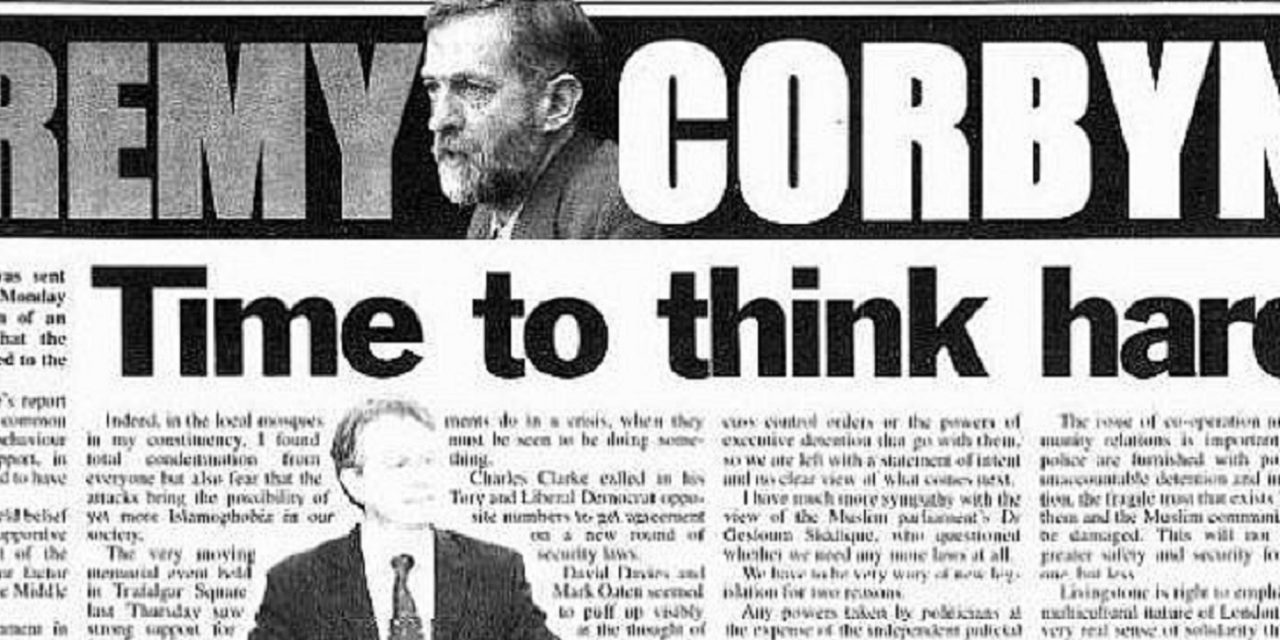Report: Corbyn suggested 7/7 bombings were linked to UK support for Israel