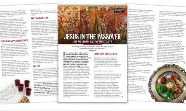 Request copies of 'Jesus in the Passover' Leaflet