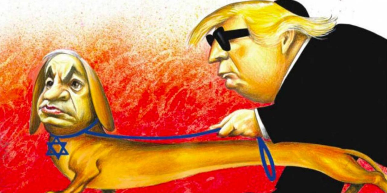 "New York Times branded ""disgusting"" for publishing anti-Semitic cartoon of Trump and Netanyahu"