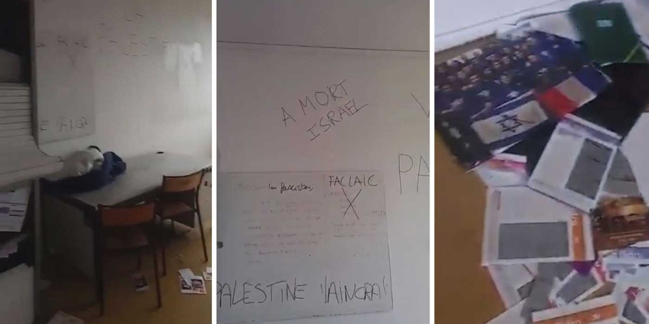 France: Anti-Israel activists vandalise, urinate in offices of Jewish student group