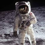 """When Neil Armstrong walked on Jerusalem: """"I am more excited stepping on these stones than stepping on the moon"""""""