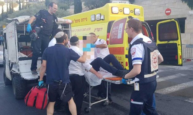 Jerusalem terror stabbing leaves two injured, one seriously