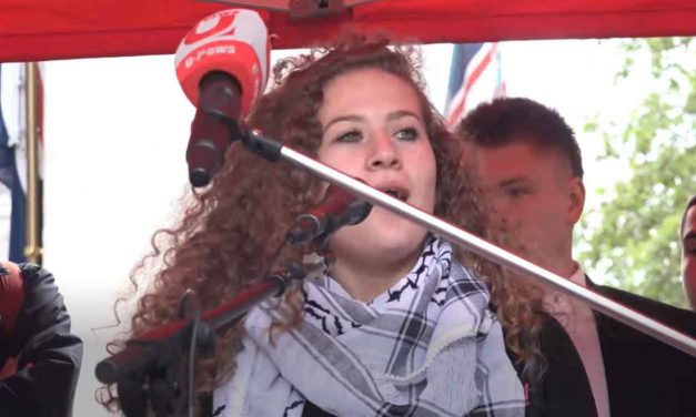 Why was Ahed Tamimi allowed to enter Britain?