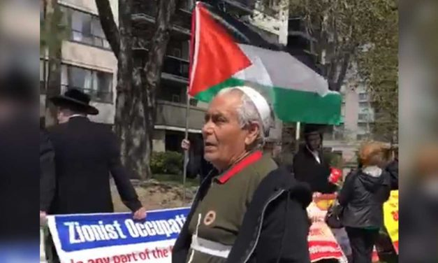 "Canada: Anti-Israel activist yells ""Hitler come back and kill all the Jews! Not 100% but 90% of them"""