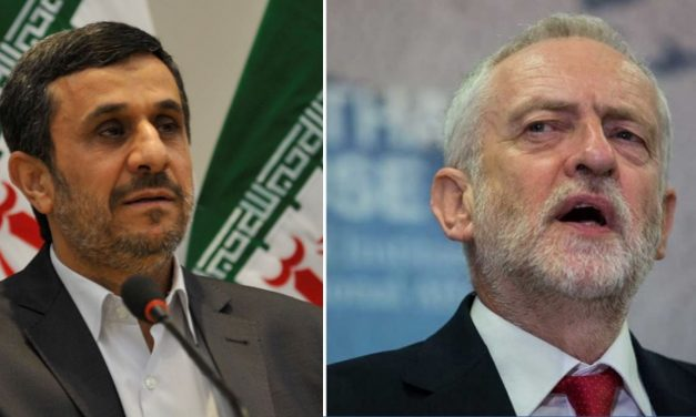 "Corbyn defended Iran's Ahmadinejad's ""Wipe Israel off the map"" speech"