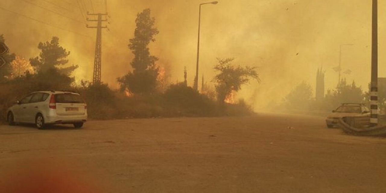 Massive wildfires sweep through Israel; Netanyahu asks for assistance
