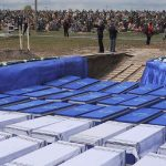 Belarus: Remains of 1200 Jews, discovered in mass grave, are laid to rest in ceremony