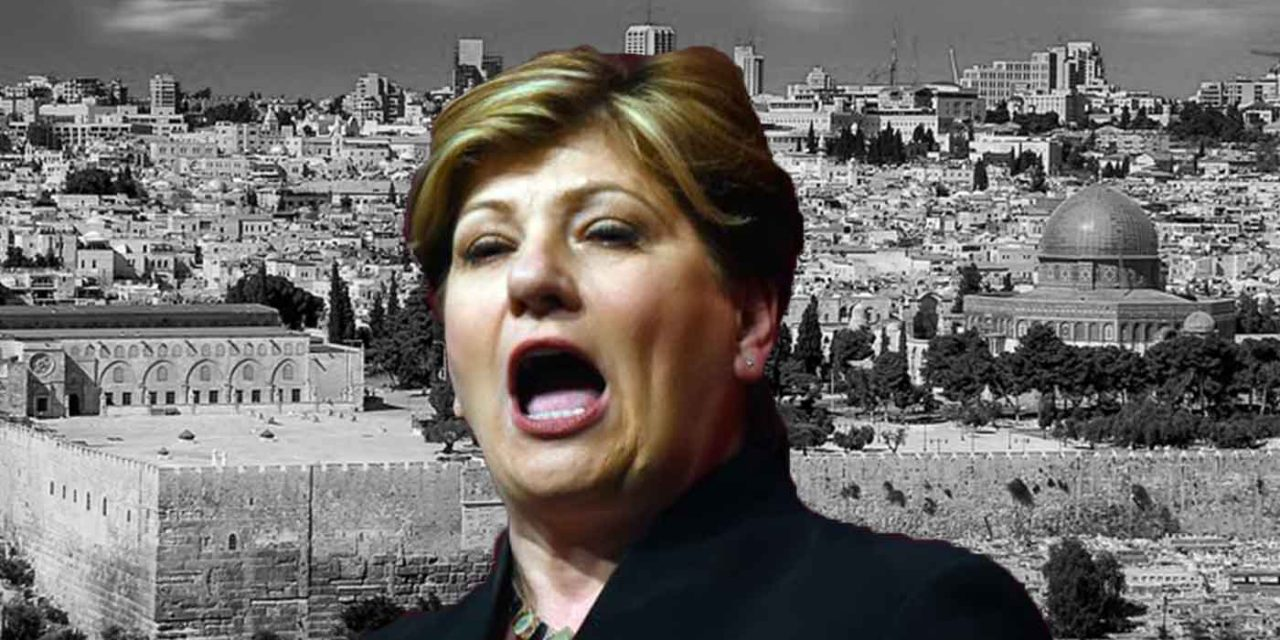 "Labour's Emily Thornberry cites Palestinian claims to Jerusalem, says Israel has ""Tel Aviv as its capital"""