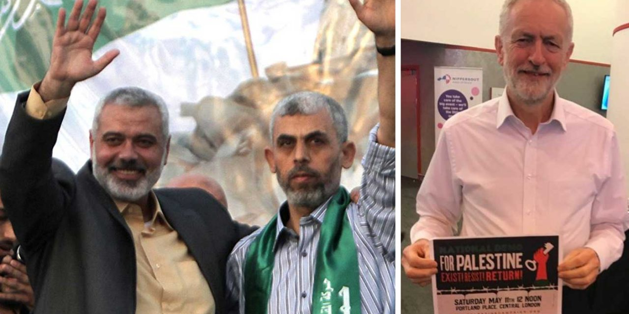 "Hamas thanks Corbyn for support; says he is ""worthy of all praise"""