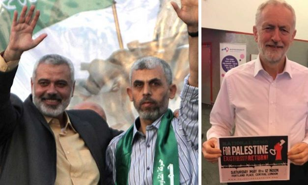Influential pro-Corbyn Facebook page is run by Hamas in Gaza