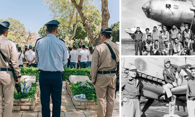 Israel Air Force pilots honour five Christian pilots who died fighting for Israel's independence