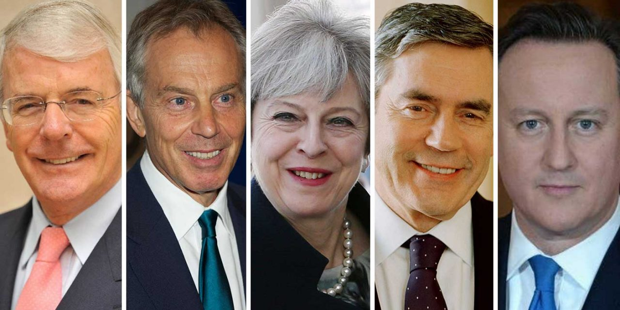 Five British Prime Ministers give support to Holocaust Memorial in Westminster