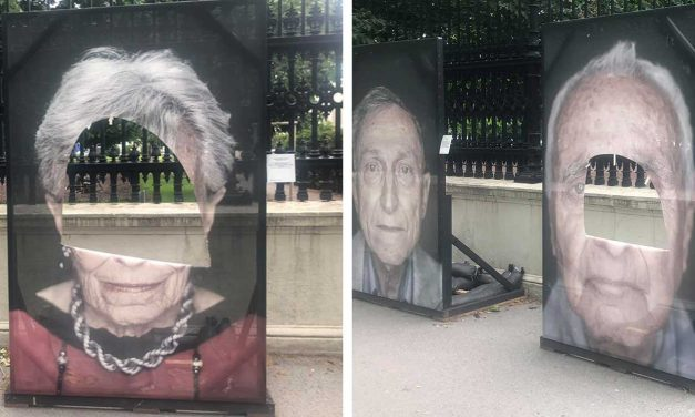 Pictures of Holocaust survivors vandalised AGAIN in Vienna