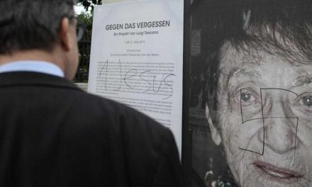 Holocaust survivors pictures defaced with swastikas in Austria