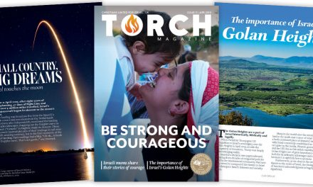 """Be strong and couregeous"" 
