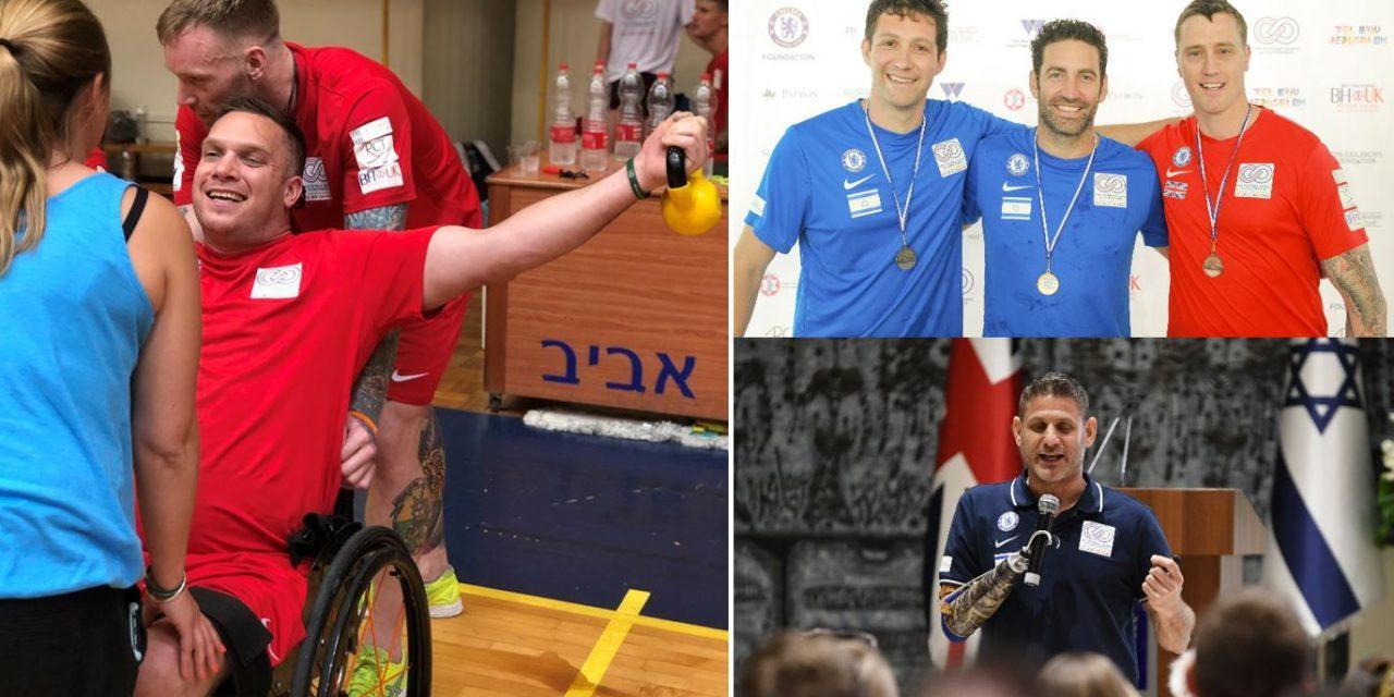 British and Israeli military veterans join for inaugural Veteran Games