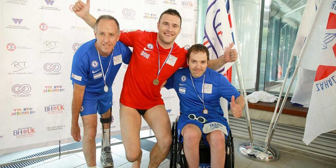 Help For Heroes salutes Israeli rehab scheme at Veterans Games