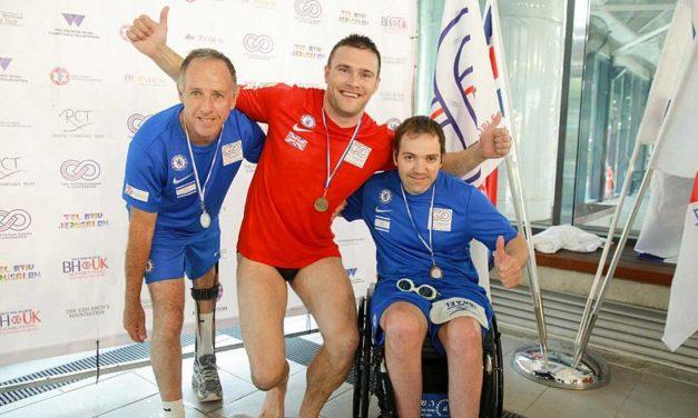 Help For Heroes salutes Israeli rehab scheme at Veterans Games