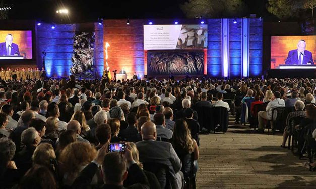 Watch: Israel's Yom HaShoah ceremony to remember the Holocaust