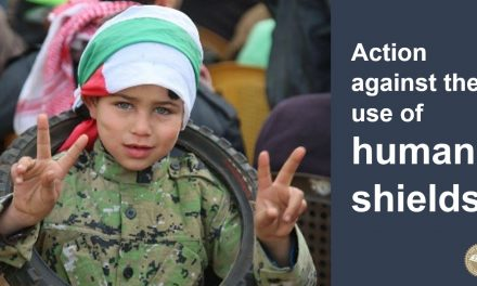 Act now against the use of human shields in Gaza