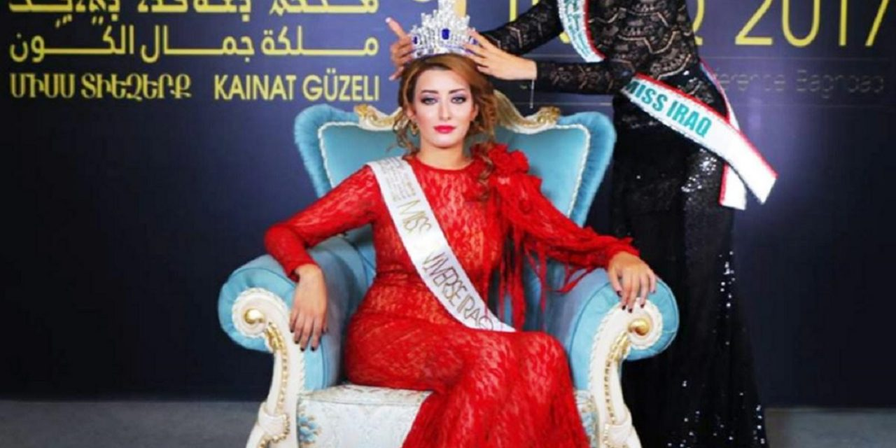Former Miss Iraq slams Hamas for using human shields