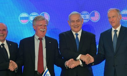 """Israel, US and Russia meet in Jerusalem for """"historic"""" talks"""